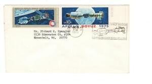 Slogan cancel, Apollo - Soyuz Mission, Navy Recovery Force, Norfolk, VA, 1975
