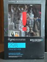 Figma 298 Metal Gear Solid 2 Sons of Liberty Gurlukovich Soldier AUTHENTIC