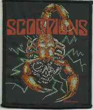 SCORPIONS scorpion 1989 WOVEN SEW ON PATCH official merchandise - no longer made