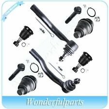 cciyu Front Suspension Upper Lower Ball Joint Sway Bar End Link fit for 2005 NISSAN ARMADA 2004-2015 NISSAN TITAN All Models 6pcs Suspension Kit