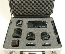 Black Contax G2 3-lens kit complete + TLA200 flash + attache case EXC++ #35586