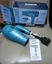 Conair 289NX 1875 Watt Ionic Conditioning Folding Handle Hair Dryer - Blue