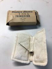 Western Electric 1689 transistor with packaging