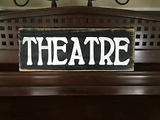 THEATRE French Country Home Decor THEATER Media MoVie ROOM Sign HP U Pick Color
