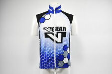 XL Men's Verge V Gear Thermo Winter Cycling Vest Blue/White/Black CLOSEOUT