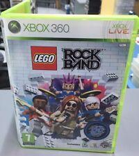 Lego Rock Band xbox 360 pal esp