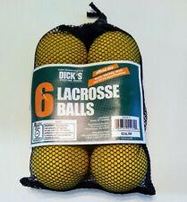Lacrosse Balls New 6 Pack