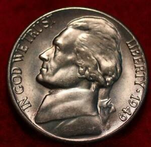 Uncirculated 1949-S San Francisco Mint Jefferson Nickel
