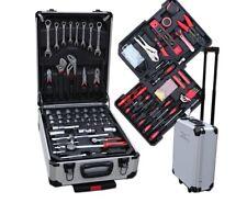 Werkzeugkoffer Werkzeug-Komplettset 207tlg Alu Trollye Transportkoffer CV-Stahl