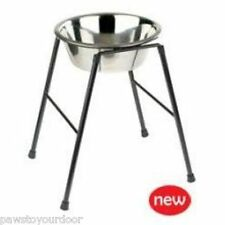 Raised single dog feeder highstand Classic inc bowl high stand - 1600ml
