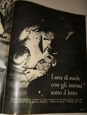 JAYNE MANSFIELD clipping ritaglio articolo photo foto=ANNI '50=83