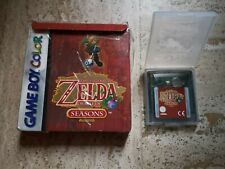 Legend of Zelda Oracle Of SEASONS - Nintendo GameBoy Color Game boy GBC boite