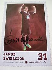 Jakub Swierczok, Kaiserslautern,  Fußball, original Autogramm