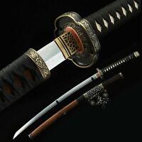 Fully Handmade Real Japanese Samurai Sword Tachi Sword