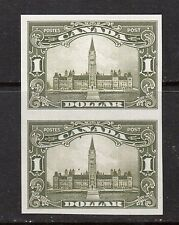 Canada #159P XF Proof Pair On India Paper