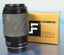 COSINA 4.5-5.6/70-210mm Objectif lens objectif pour For Minolta AF - (41553)