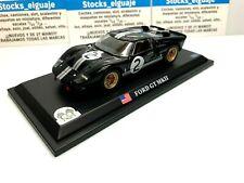 IXO DEL PRADO 1/43 FORD GT40 MKII #2# LE MANS EN BLISTER DE PLASTICO