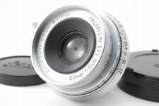 【B V.Good】  Leica Elmar 50mm 5cm f/3.5 Silver Lens for M Mount From JAPAN Y3561