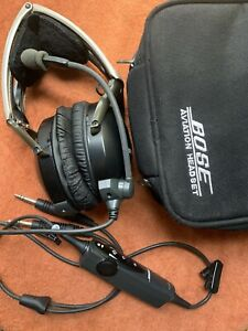 Bose Aviation Headset X with a Carry Case