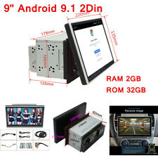 9'' Android 9.1 2+32G Car Stereo Radio Double 2 DIN Wifi OBD2 GPS Navi Head Unit
