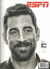 ESPN September 18 2017 Aaron Rodgers Green Bay Packers NFL Preview Newsstand !!
