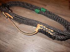 Bull rope Poly Black Custom Pro 9/7 Right Hand Ept Bull Ropes Rodeo riding rider