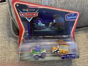 DISNEY PIXAR CARS SUPERCHARGED MOVIE MOMENTS BUZZ AND WOODY