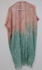 Anthropologie Saachi Flowy Wrap - Womens One Size - Coral - NWT