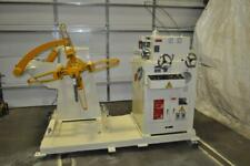 3000 Lb X 12 Aida Uncoiler Straightener Combo 126 Inches 4 12 Meters Minut