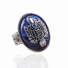The Vampire Diaries Damon Salvatore Sun Protectation Antique Silver Ring US 8