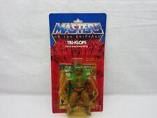 MOTU,VINTAGE,TRI-KLOPS,Masters of the Universe,MOC,carded,sealed,figure,He-Man