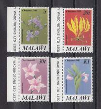 TIMBRE STAMP  4 MALAWI Y&T#409-12 FLEUR FLOWER NEUF**/MNH-MINT 1983 ~B99