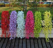 Colorful Artificial Silk Trailing Vine Flower Plant Wedding Garland Foliage Ivy