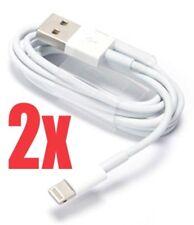 ✅2x Orginal Apple iPhone 5 5S 5C 6 iPad Air USB Lightning Ladekabel MD818 weiss✅