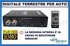 NUOVO DIGITALE TERRESTRE AUTO TV DVB-T2 DT-5600 DECODER HDMI TELECOMANDO CONCORD