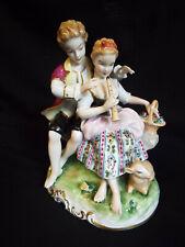More details for delightful german unterweissbach porcelain figurine 8284