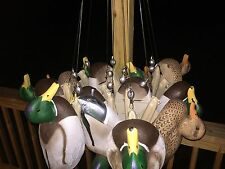 "12 DUCK DECOY TEXAS RIGS 2.5' (30"") DOZEN READY TO GO FLOODED TIMBER STYLE EASY"