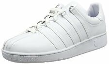 K-Swiss Mens Classic Vintage Updated Iconic Shoe, White/White, 14 M US