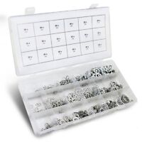 720pc Lock Washer Assortment C Split Flat Star Spring 3 Styles 18 Sizes