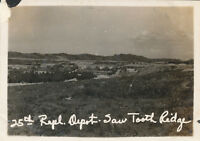 WWII 1945 Okinawa photo #4 Saw Tooth Ridge 25th Depot
