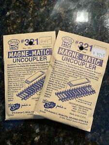 Kadee Train HO Scale #321 Magne-Matic Uncouplers