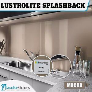 new lustrolite mocha acrylic kitchen splash back better than glass 2700x760