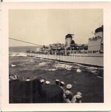 Transferring Injured Jamaica Cruise Ship Passengers To Coast Guard 1945 Photo