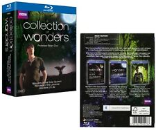 A COLLECTION OF WONDERS: the SOLAR SYSTEM, UNIVERSE, LIFE  Brian Cox NEW BLU-RAY