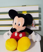 MICKEY MOUSE DISNEY STORE SOFT PLUSH TOY WITH TAG! 38CM FROM EARS TO FEET!