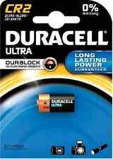 1 x CR2 Duracell 3V Ultra Lithium Photo Camera Batteries DLCR2 / ELCR2