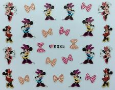 Nail Art 3D Decal Stickers Disney's Minnie Mouse K085