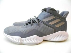 Adidas Explosive Bounce 2018 Basketball Shoes LVL 029002 Size 12 Men Gray
