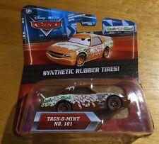 Disney Pixar Cars Tach-O-Mint No. 101 (Synthetic Rubber Tires) Kmart Exclusive
