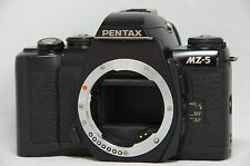 Pentax MZ-5 35mm SLR Film Camera Black Body Only SN8704990 *For Parts*